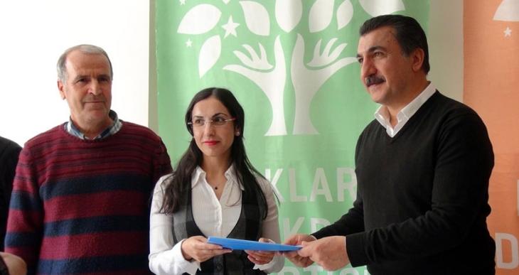 Ferhat Tunç, HDP'den aday adayı oldu