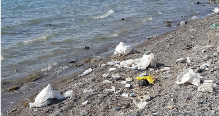 Van Gölü çöplük oldu