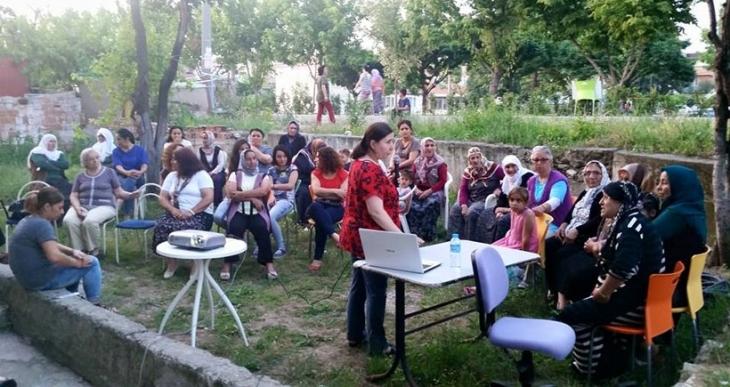 Panayır'da kadın cinayetleri söyleşisi