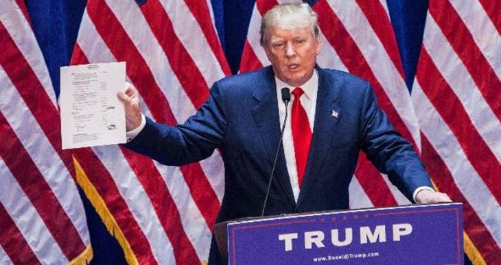 Donald Trump, ABD Başkanlığı için aday adaylığını açıkladı
