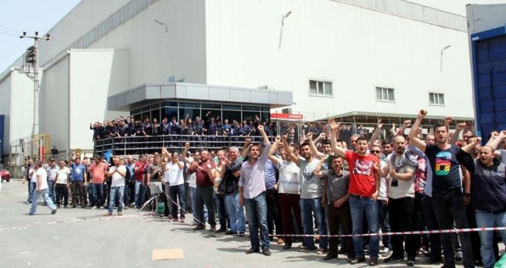Bursa'daki Coşkunöz ve MAKO metal fabrikalarında huzursuzluk had safhada