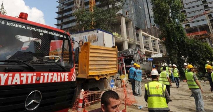 10 işçinin öldüğü Torunlar rezidans inşaatında yangın