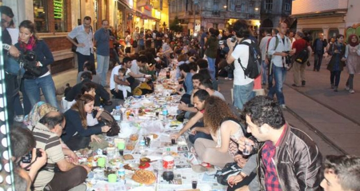 Aşırı tüketime karşı Yeryüzü Sofrası'nda buluştular