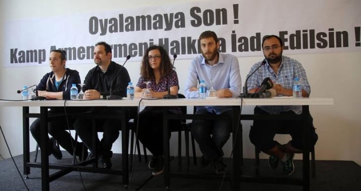 'Oyalamayın, Kamp Armen'i Ermeni halkına iade edin'