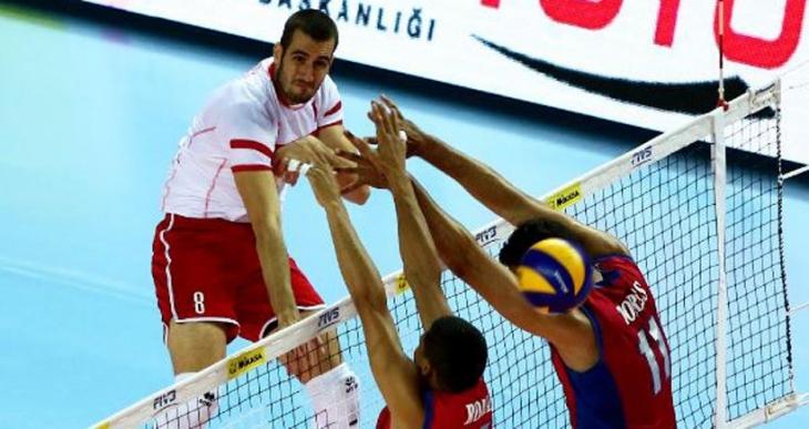 2015 FIVB Dünya Ligi'nde Türkiye, Porto Riko'yu 3-0 mağlup etti