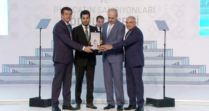 Reza Zarrab'a Erdoğan'ın da katıldığı törende ihracat ödülü verildi