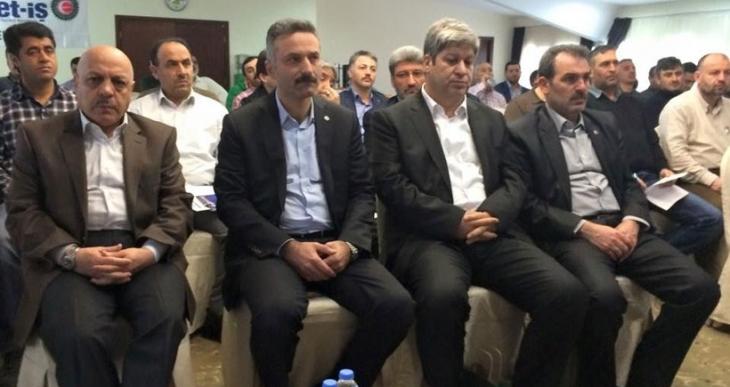 Erdoğan'a yumruklu  'Hizmet'
