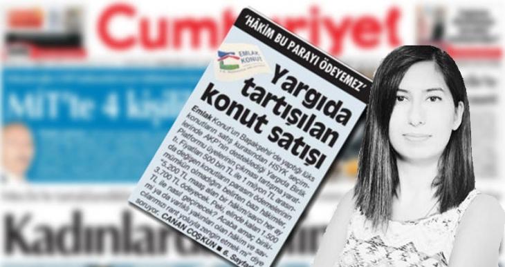 'Yargıda tartışılan konut satışı' haberini yapan muhabirin 23 yıl hapsi isteniyor