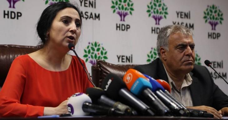Yüksekdağ: Türkiye IŞİD'i desteklemiyorsa bunu kanıtlamalı