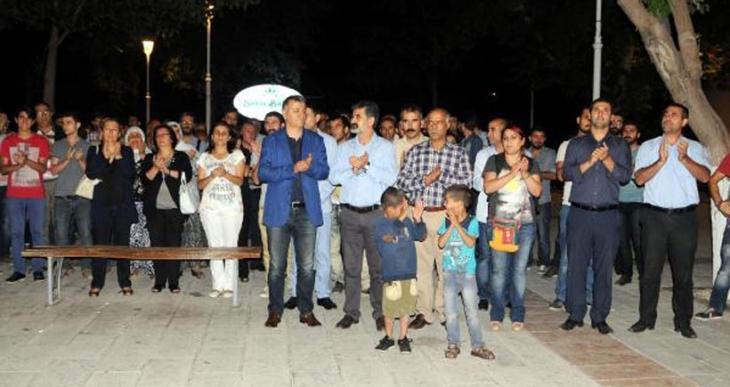 Gaziantep'te Kobanê saldırısı protesto edildi