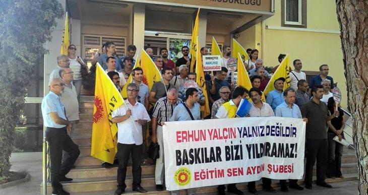 Aydın'da Berkin Elvan sürgünü protesto edildi