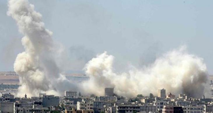 YPG, IŞİD militanlarının olduğu binayı havaya uçurdu