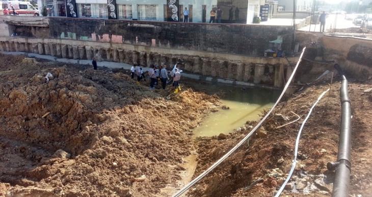 İnşaat bekçisi su birikintisinde ölü bulundu