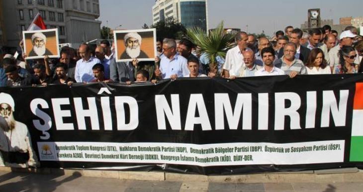 Diyarbakır'da Şeyh Sait ve 47 arkadaşı anıldı