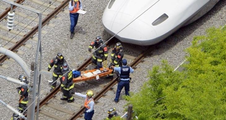 Japonya'da hızlı trende yangın çıktı: En az 1 ölü, 2 ağır yaralı