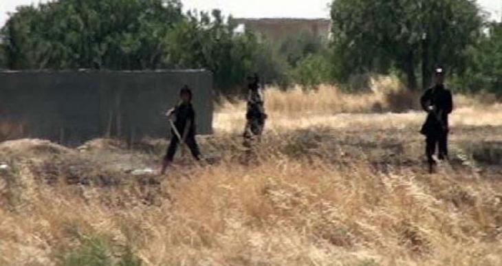IŞİD'liler yine sınırdaydı