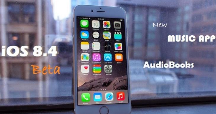 iOS 8.4 güncellemesi Apple Music ile birlikte yayınlandı