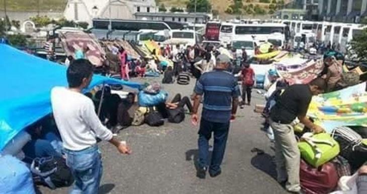 Nusaybin'e zorla götürülen 791 Êzidî Diyarbakır'a getirildi