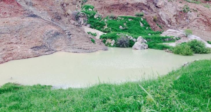 Ciner madencilik bir köyü  yutmak üzere
