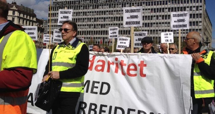 Türkiyeli şirket Norveç'te  işçi haklarını hiçe sayıyor