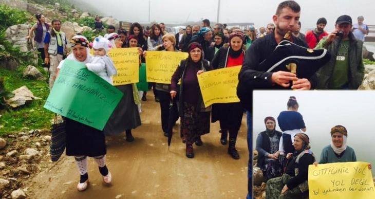 Karadeniz'i yok edecek Yeşil Yol projesine tepki: Gittiğiniz yol yol değil