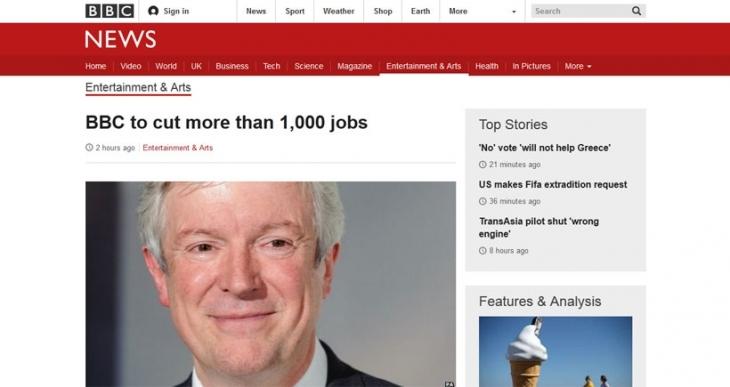 BBC, 1000'den fazla çalışanını işten çıkaracak