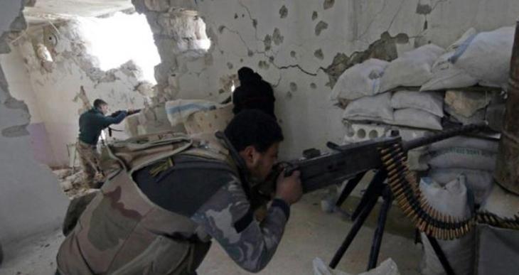 Cihatçı gruplar Halep'te Suriye ordusuna saldırdı