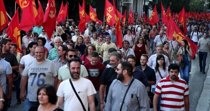 KKE: Referanduma da AB'ye de hayır!