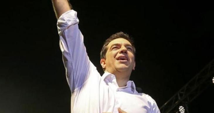 50 bin kişiye seslenen Çipras: Referandumda 'Hayır' tarih yazacak