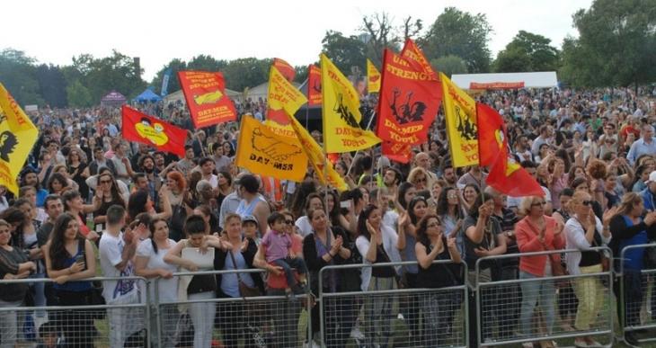 Binler DAY-MER Festivali'nde buluştu