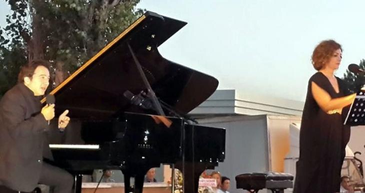 Fazıl Say ve Serenad Bağcan Arguvan'da konser verdi