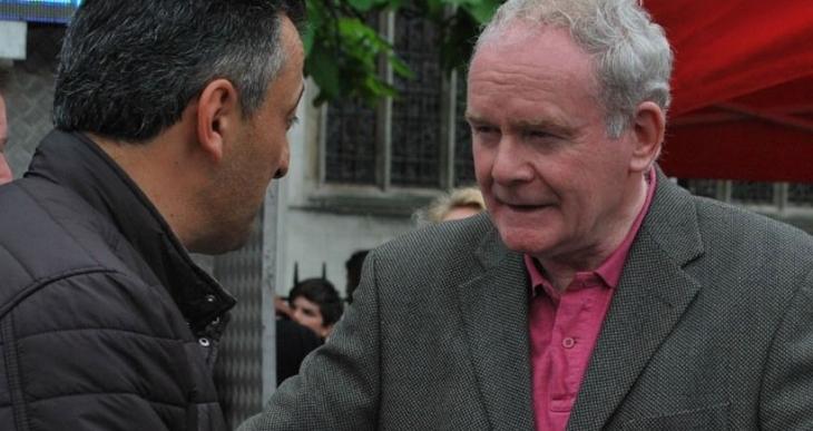 'IRA'nın beyni' Martin McGuinness: Çözüm isteniyorsa  sorumluluk hükümetindir