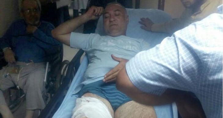 Ankara'da bir mahkum, 3 kişiyi yaralayıp firar etti