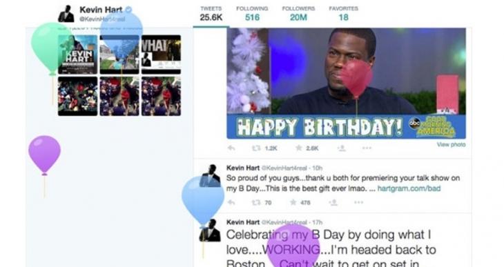 Twitter'ın doğum günü pastasından 'reklam hedeflemesi' çıktı