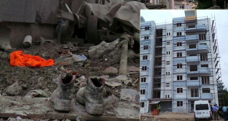 İnşaatın 7'nci katından düşen 1 işçi öldü, 1 işçi yaralandı
