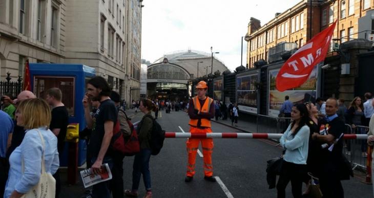 Londra'da 48 saatlik ulaşım grevi