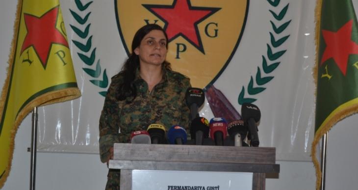 YPG, 'Komutan Rubar Hamlesi'nin sona erdiğini duyurdu