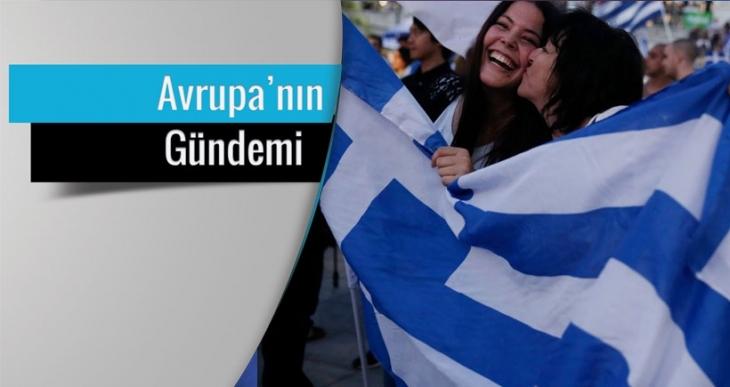 Avrupa'nın  Yunan halkıyla imtihanı