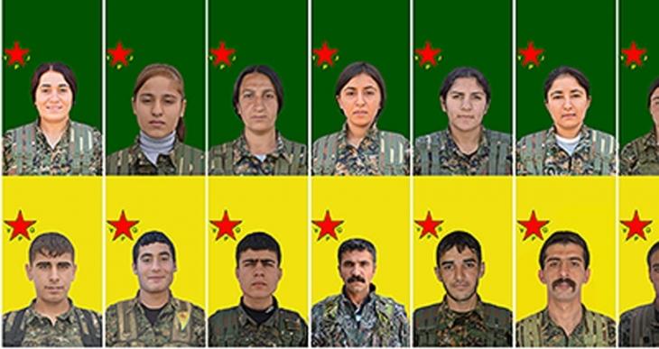 16 YPG/J savaşçısının daha kimlik bilgileri açıklandı