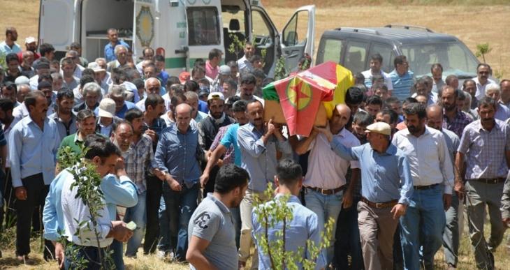 Rojava'da yaşamını yitiren savaşçılar uğurlandı