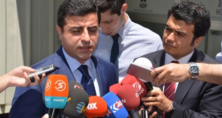 Demirtaş: KCK tümüyle ateşkesin bitmesi durumundan söz etmiyor