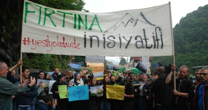 Çamlıhemşin halkı, Yeşil Yol için yürüdü: Projenin adı yeşil ama özü kara