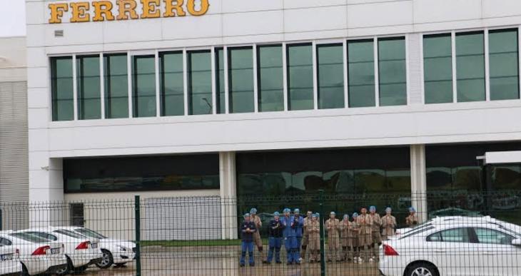 Ferrero Çikolata'da  Gıda-İş üyelerine baskı