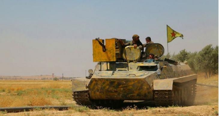 YPG: IŞİD'in Rakka ve Şeddad bağlantıları kesildi