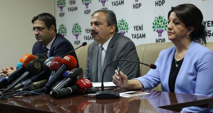 HDP, Davutoğlu ile paylaştıkları ilkeleri açıkladı
