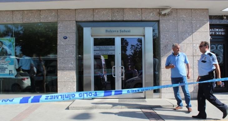 İzmir'de banka soygunu