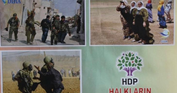 YPG'lilerin olduğu takvime 'örgüt propagandası' soruşturması