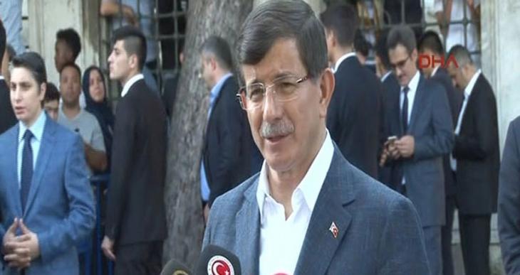 Davutoğlu: Bayram sonrası hemen koalisyon çalışmalarına başlayacağız