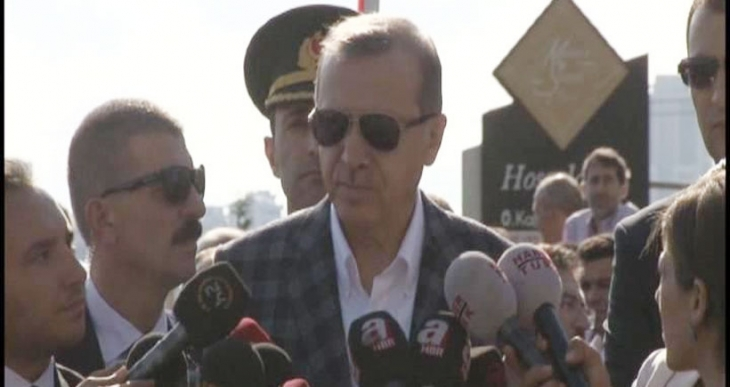 Erdoğan Dolmabahçe mutabakatı diye bir şey tanımadığını söyledi