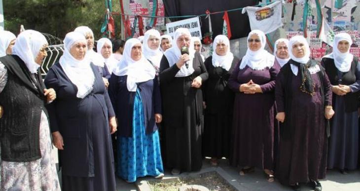 Barış Anneleri Kobanê sınırına hareket etti